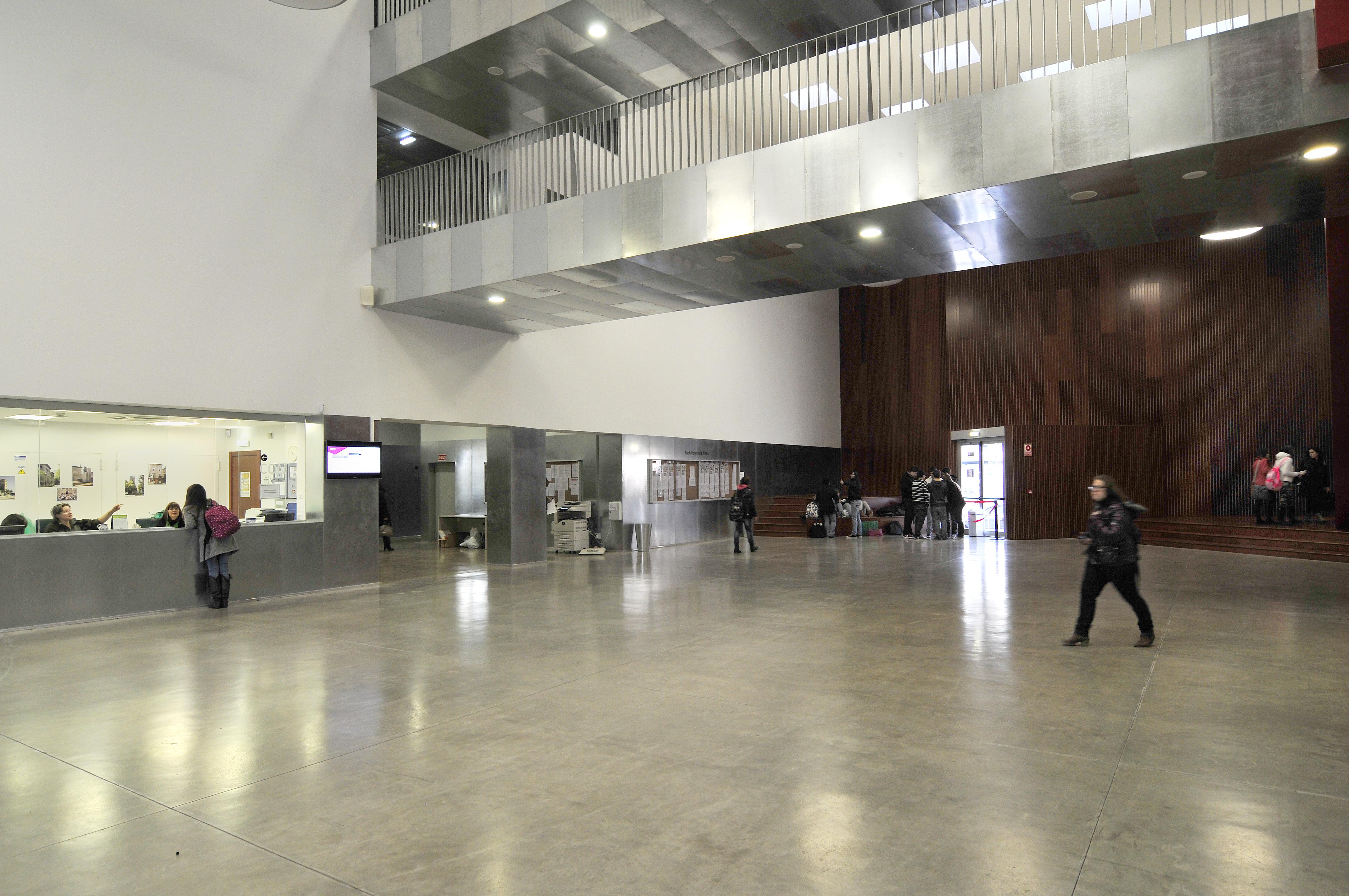 Instalaciones escuela de arte de zaragoza Escuela arte 4 diseno de interiores