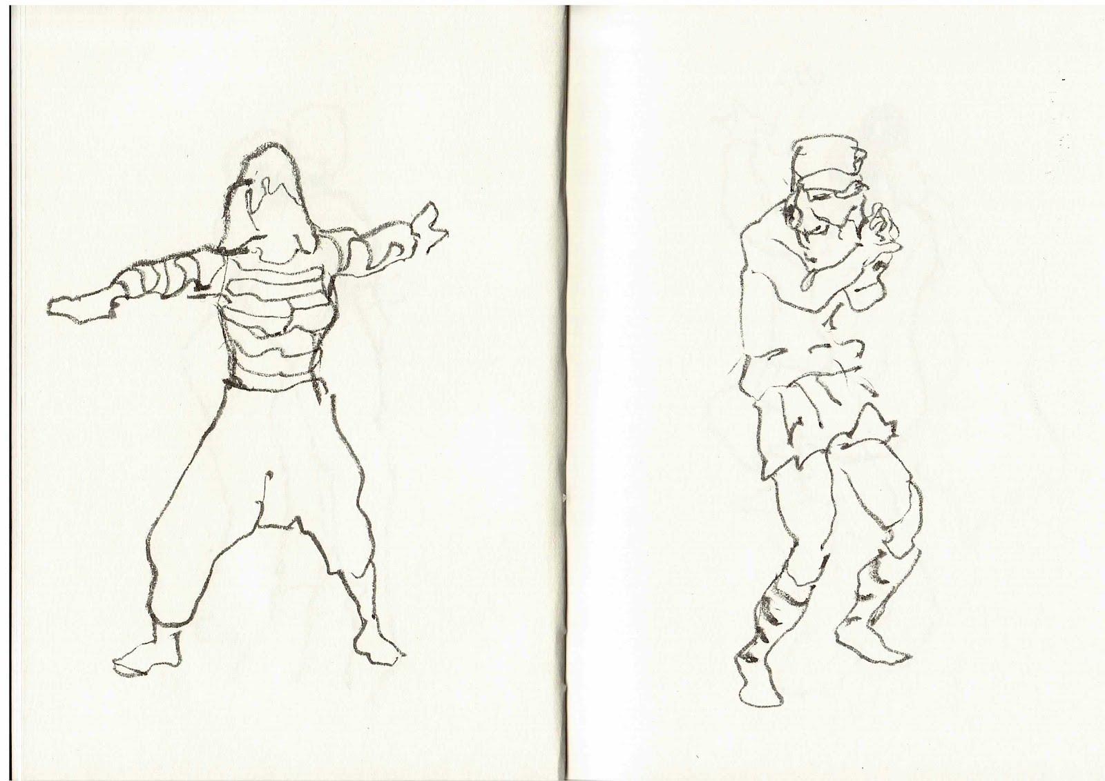 Sesión De Dibujo En Movimiento Escuela De Arte De Zaragoza